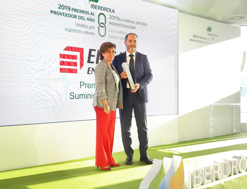Eiffage Energía awarded Iberdrola's Special Prize for Best Supplier of the Year 2019