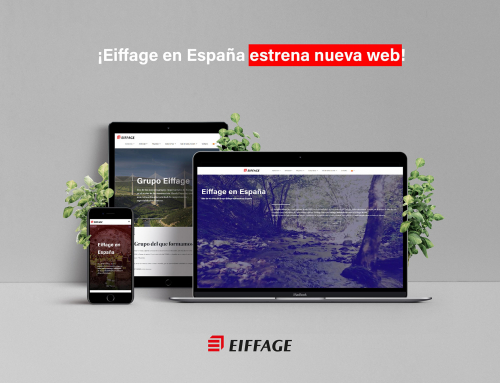 Eiffage España launches its new website