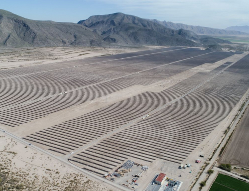The Andalucía II Solar Plant provides clean energy to more than 60,000 homes in Mexico
