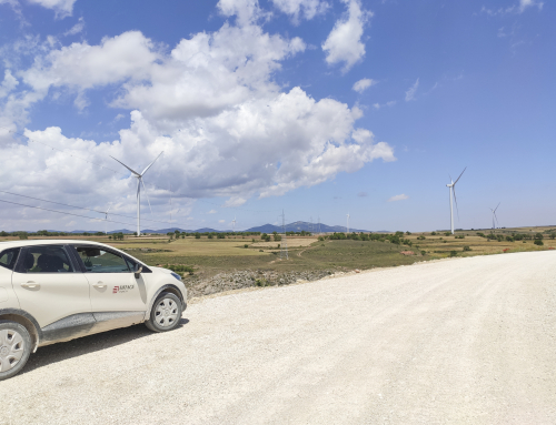The Monforte wind farms built by Eiffage Energía for Coronation are already in operation