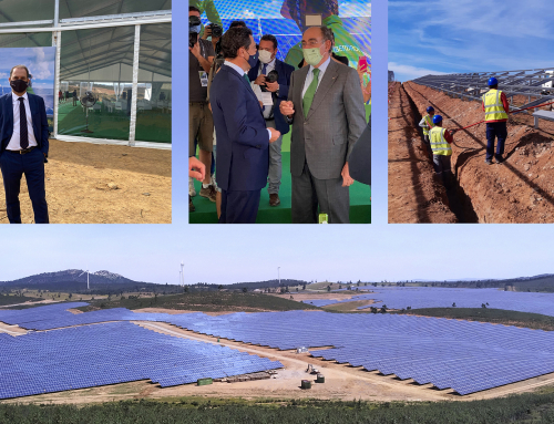Iberdrola inaugurates the Andévalo Solar Plant, built by Eiffage Energía