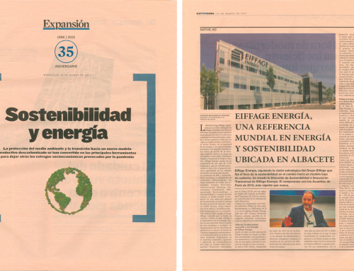 Eiffage Energía, a worldwide reference in energy and sustainability located in Albacete