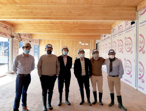 A Conscytec delegation travels to France to visit a unique project by Eiffage Construction