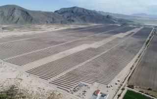 Nueva planta solar en México. Eiffage Energía