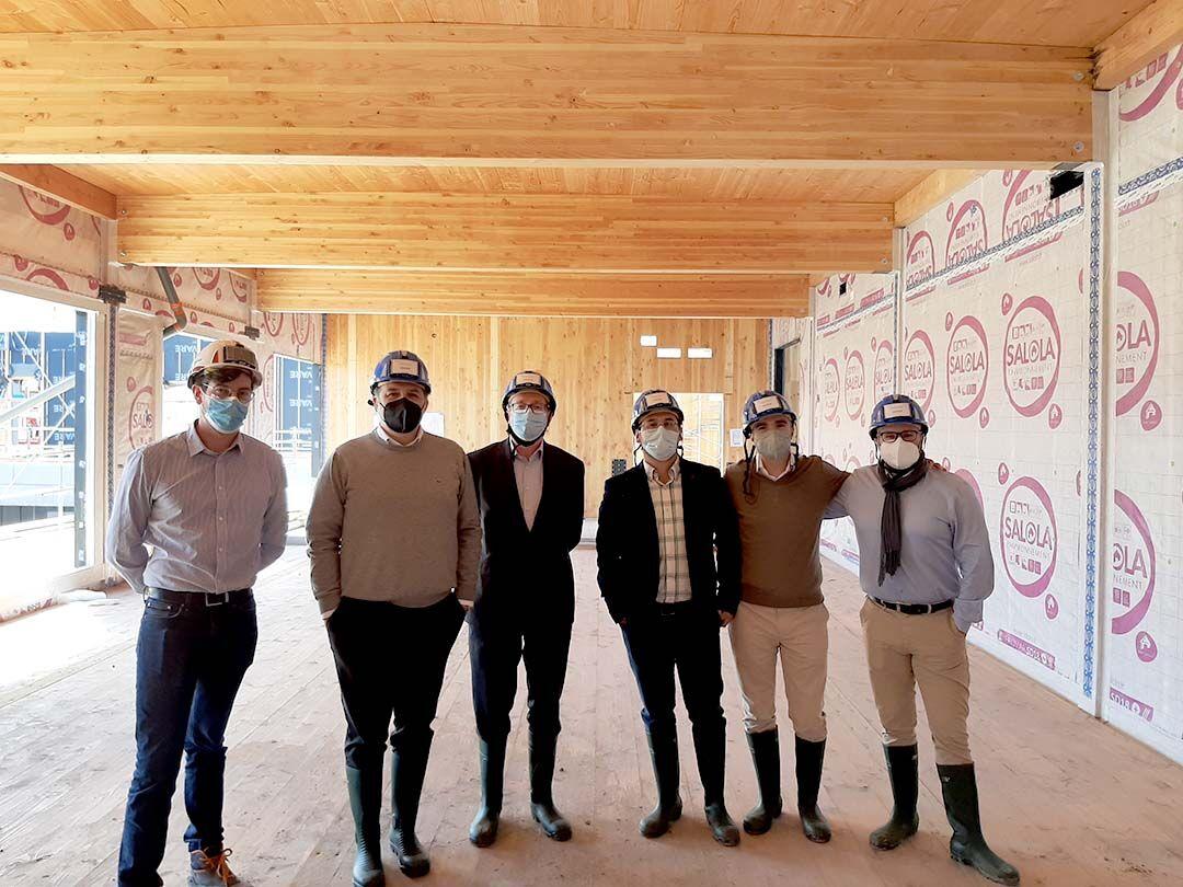 Una delegación de Conscytec viaja a Francia para conocer una obra muy singular de Eiffage Construction